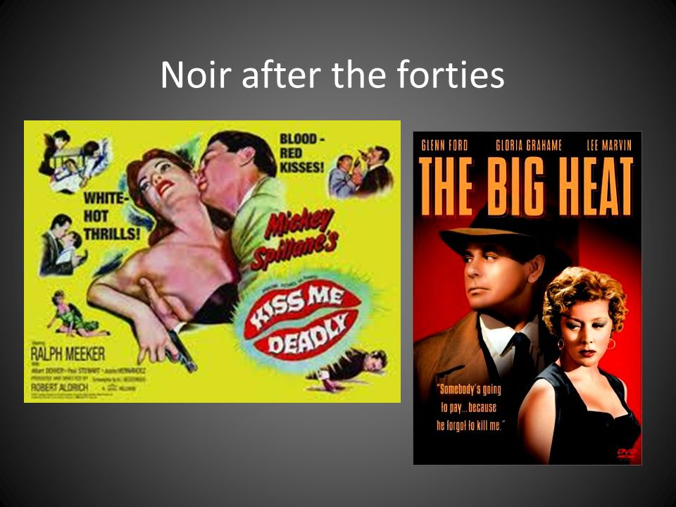 Context of forties Disillusionment with American Dream – depression, war, etc Gender issues Hays code German and Eastern European influence Edward Hopper images of American life
