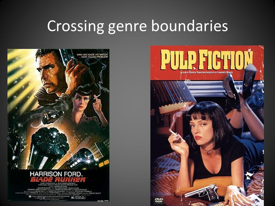 Crossing genre boundaries