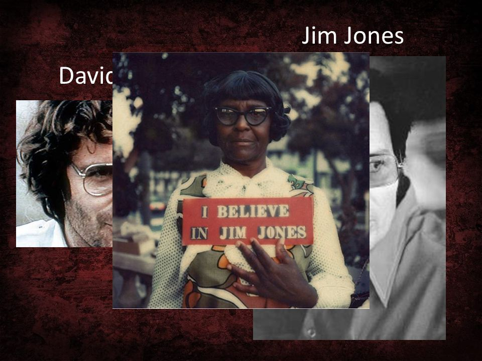 David Koresh Jim Jones