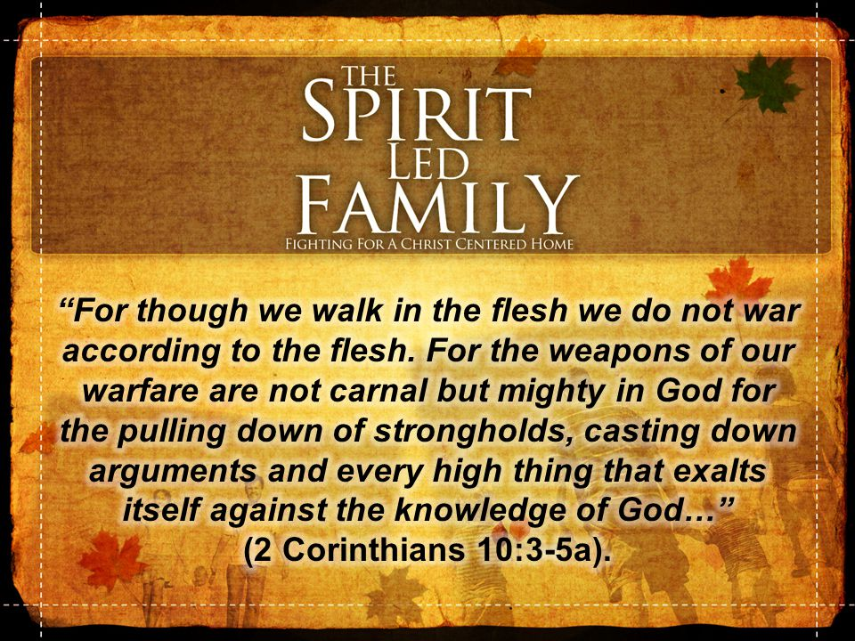The Enemy of Spirit – Led Families Sins of Intemperance 2970.