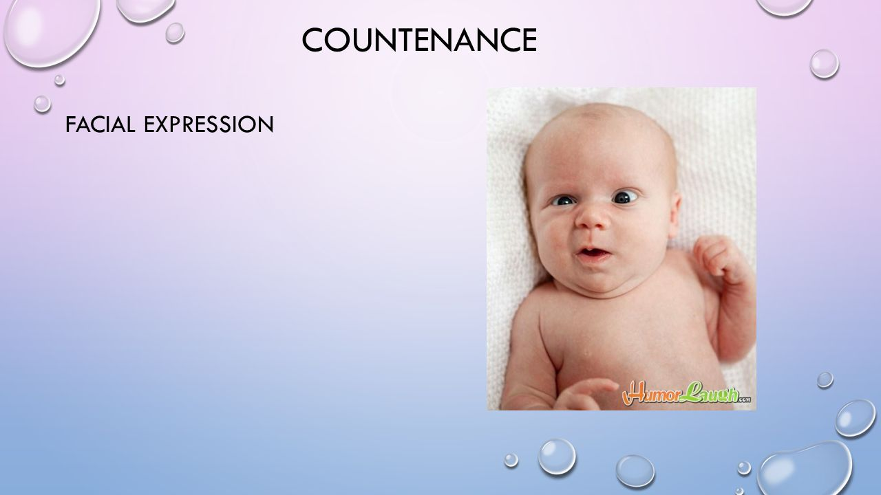COUNTENANCE FACIAL EXPRESSION
