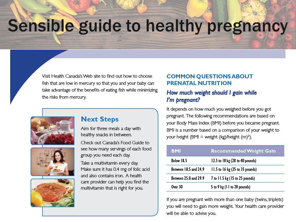 Sensible guide to healthy pregnancy
