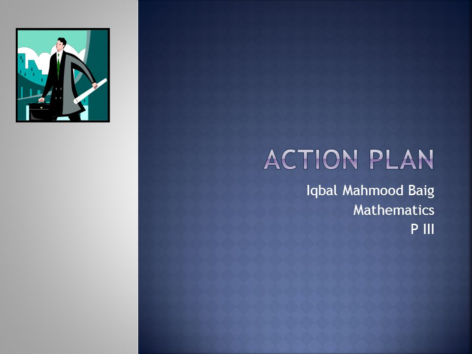 Iqbal Mahmood Baig Mathematics P III