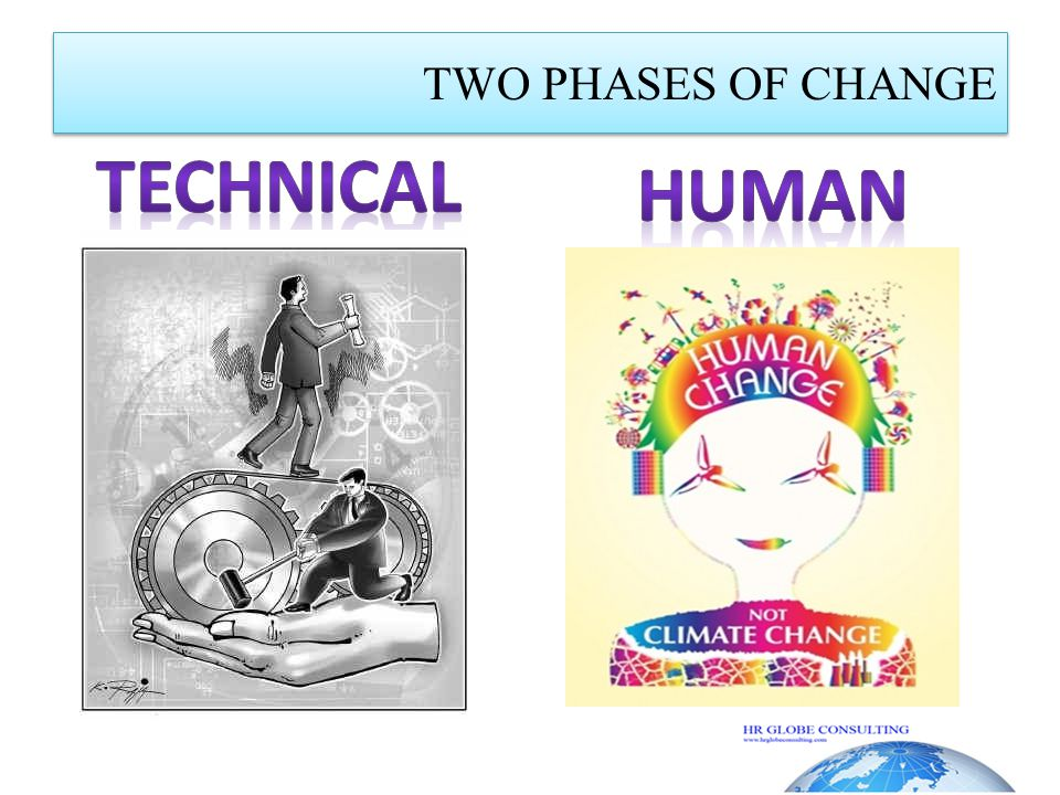 TWO PHASES OF CHANGE