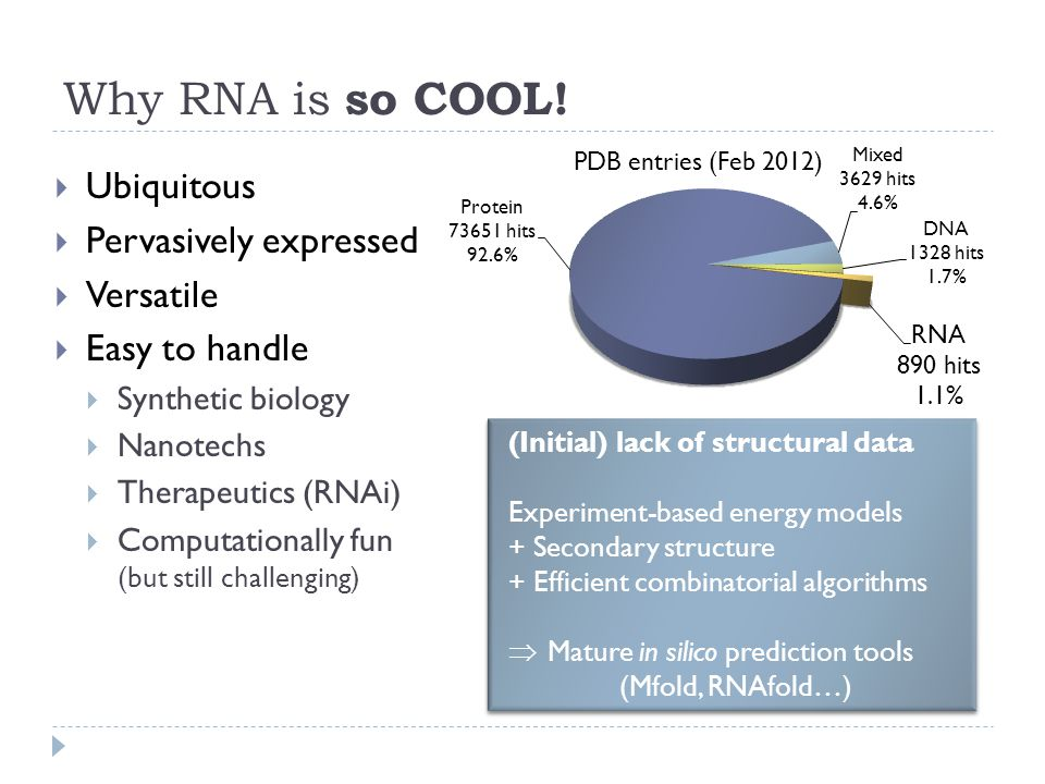 Why RNA is so COOL.