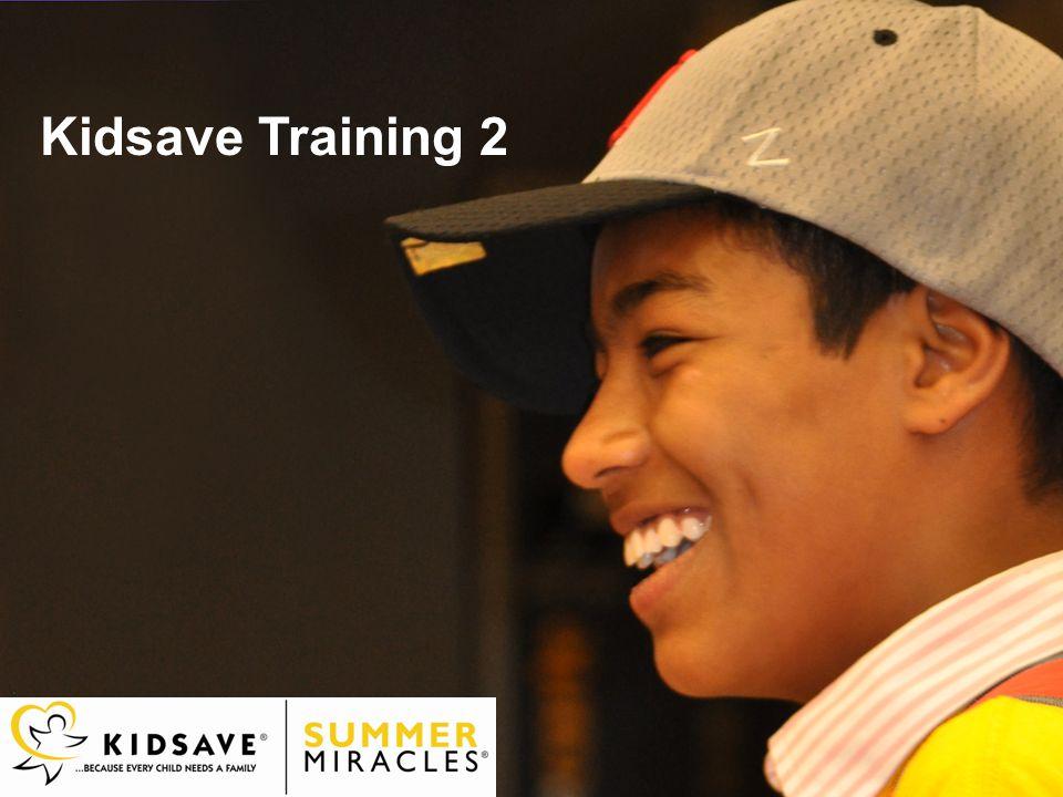 Kidsave Training 2
