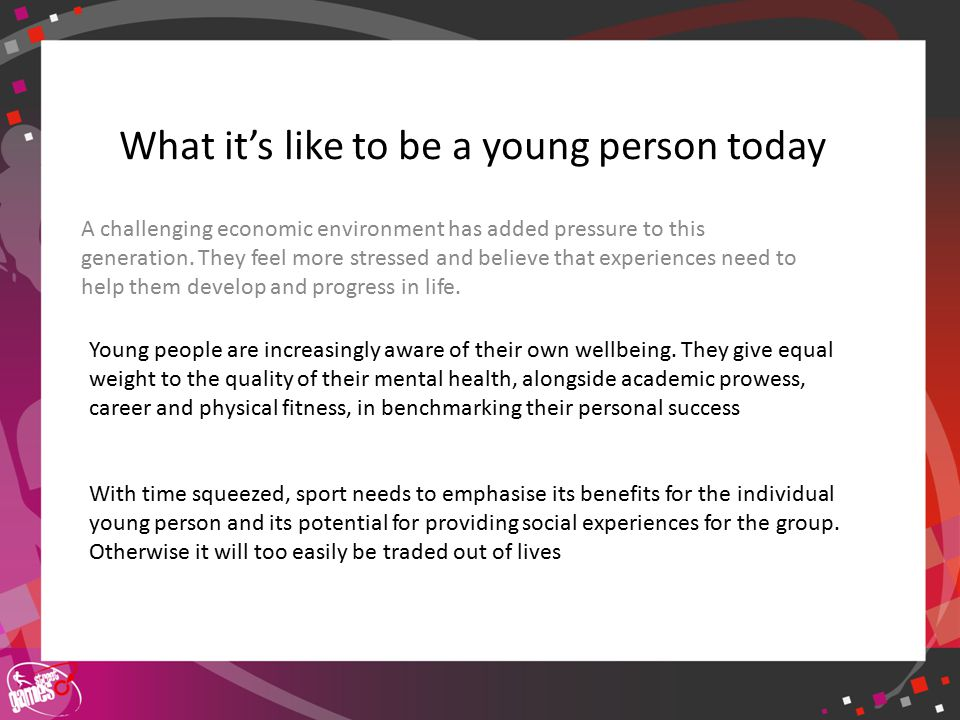 Click to edit Master title style What it is like to be a young person in a disadvantaged area Finances amongst disadvantaged young people are typically limited.