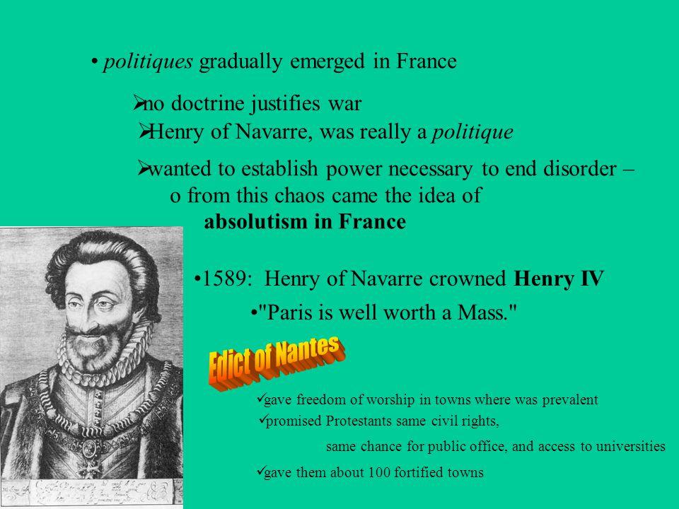 Religious Wars St.