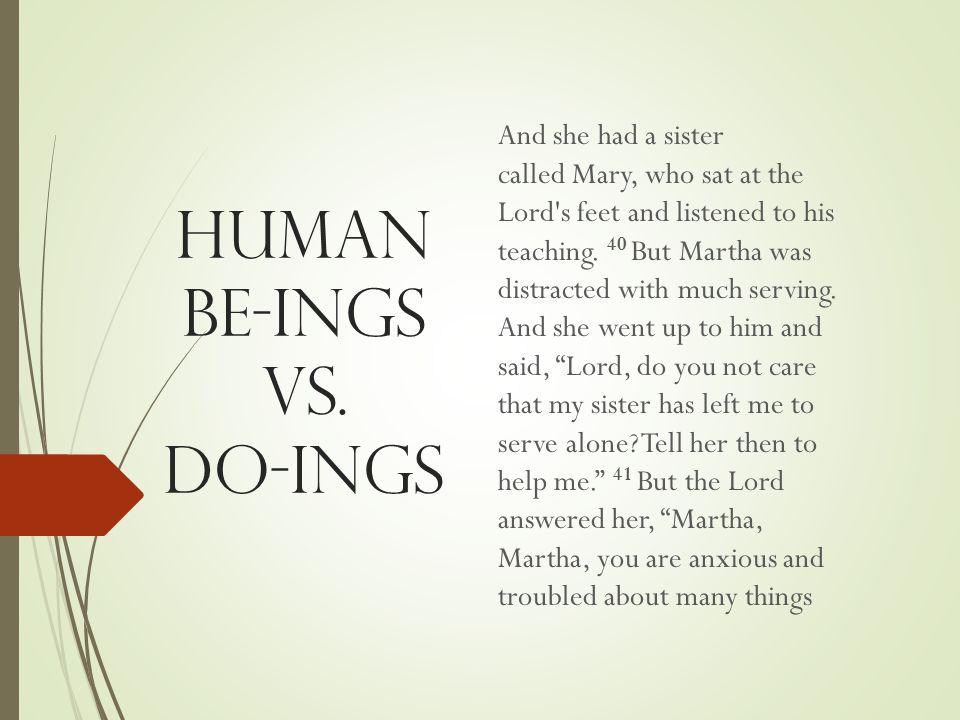 Human BE-Ings vs.