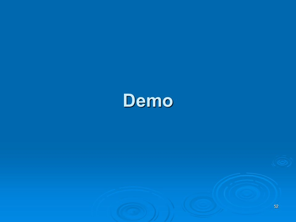 Demo 52