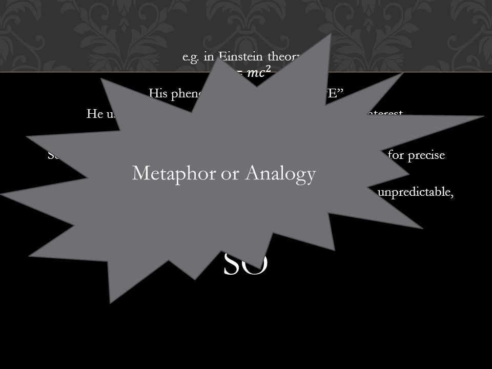 Metaphor or Analogy