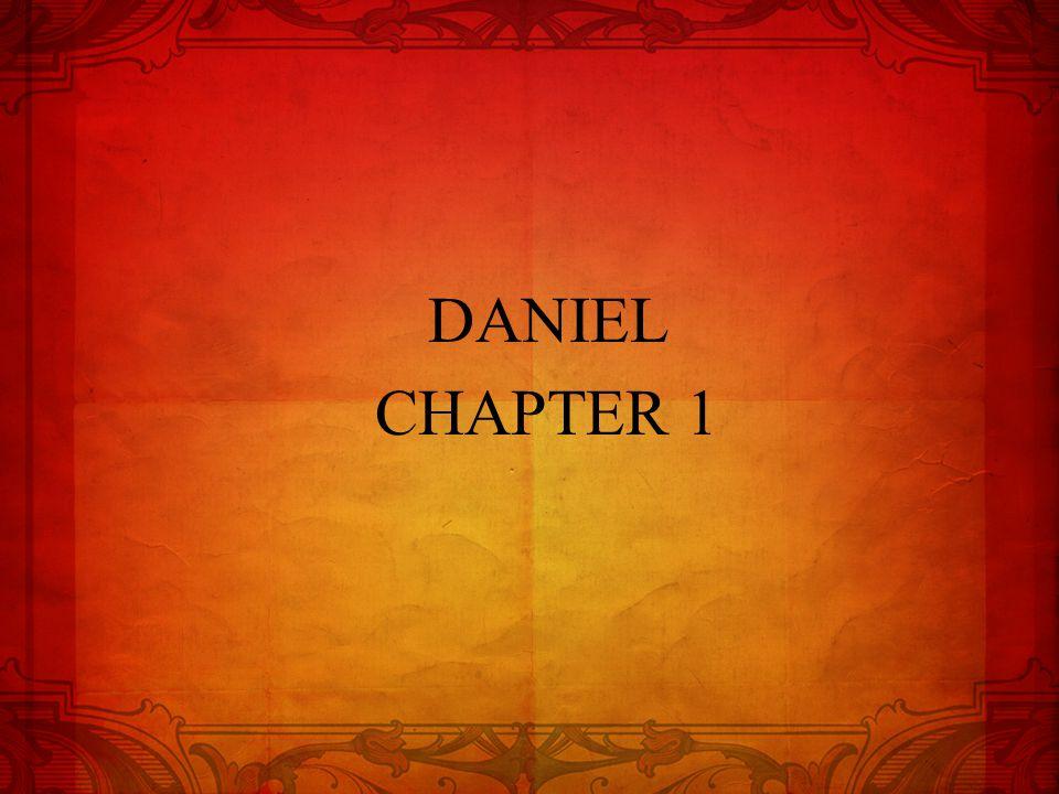 DANIEL CHAPTER 1