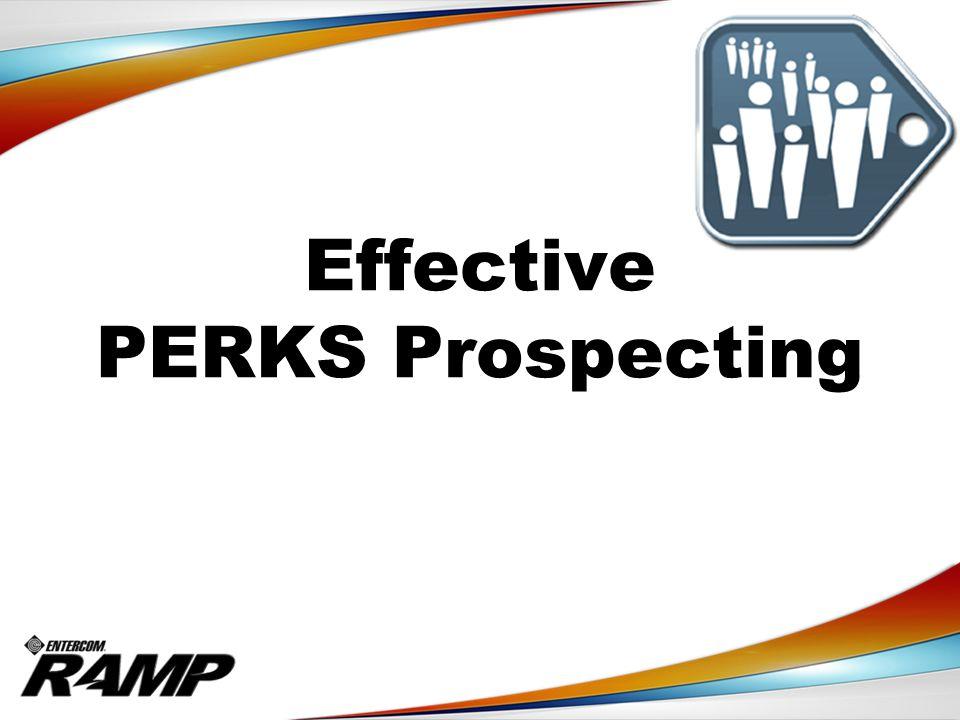 Effective PERKS Prospecting