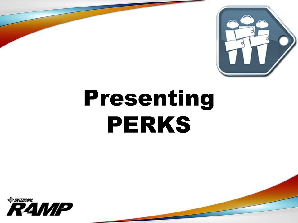 Presenting PERKS
