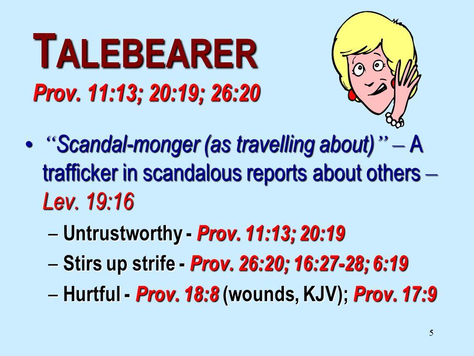 5 T ALEBEARER Prov.