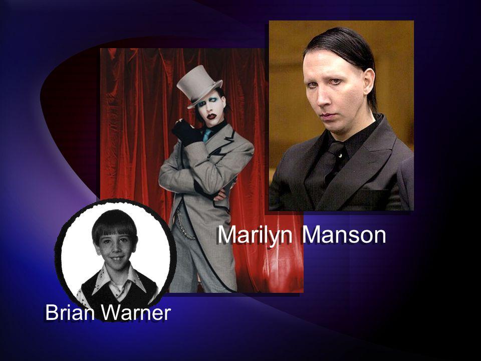 Marilyn Manson Brian Warner