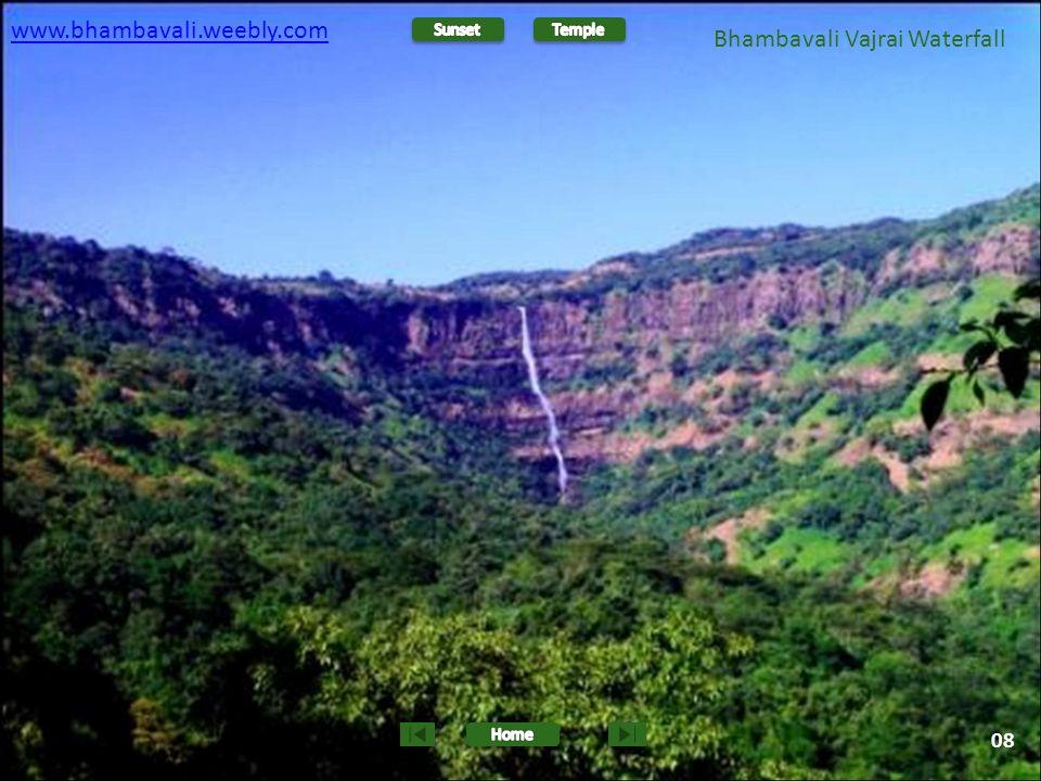 www.bhambavali.weebly.com 09 Bhambavali Vajrai Waterfall