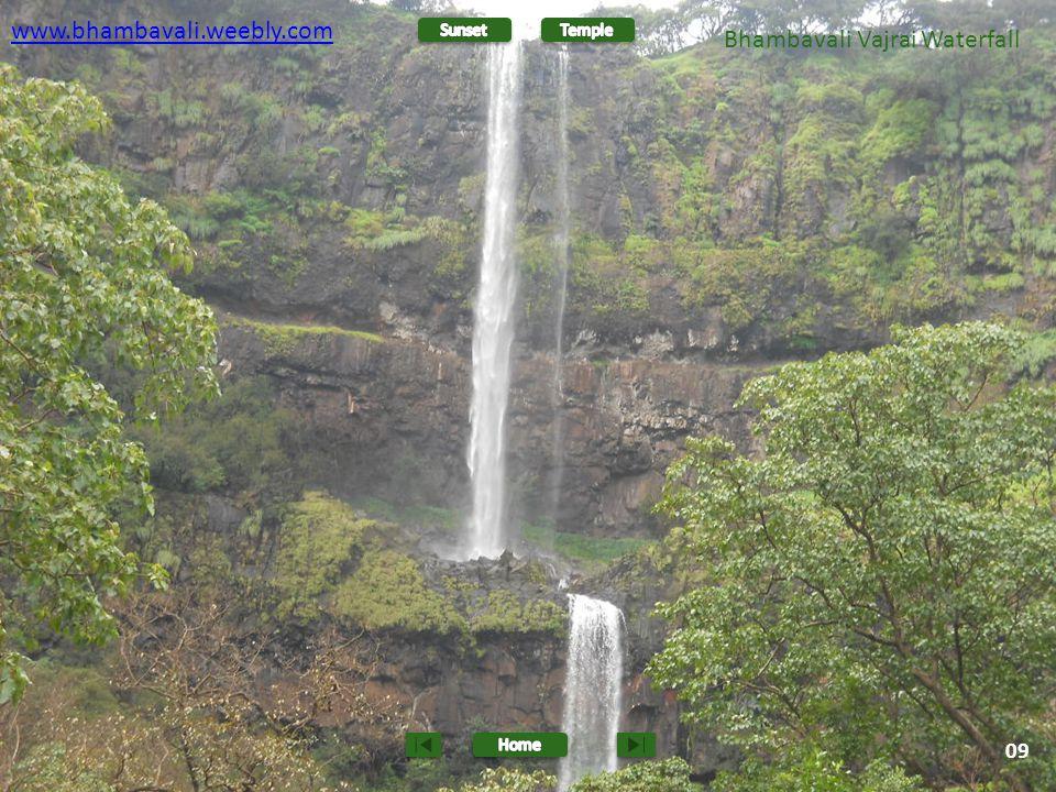 www.bhambavali.weebly.com 10 Bhambavali Vajrai Waterfall