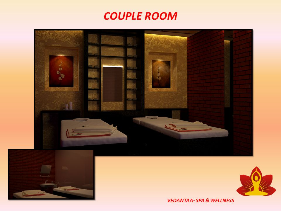 COUPLE ROOM VEDANTAA- SPA & WELLNESS