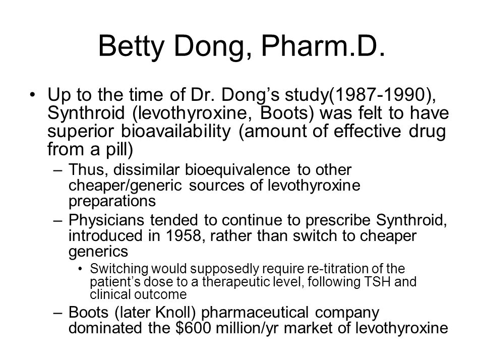 Betty Dong, Pharm.D.