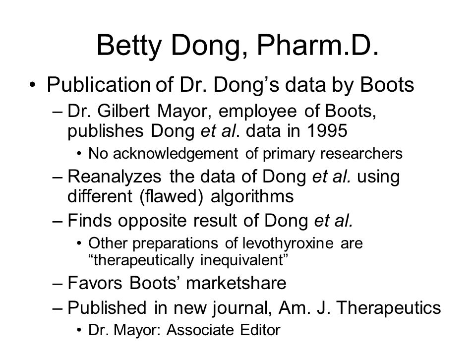 Betty Dong, Pharm.D. Why did Dr. Dong withdraw the publication.