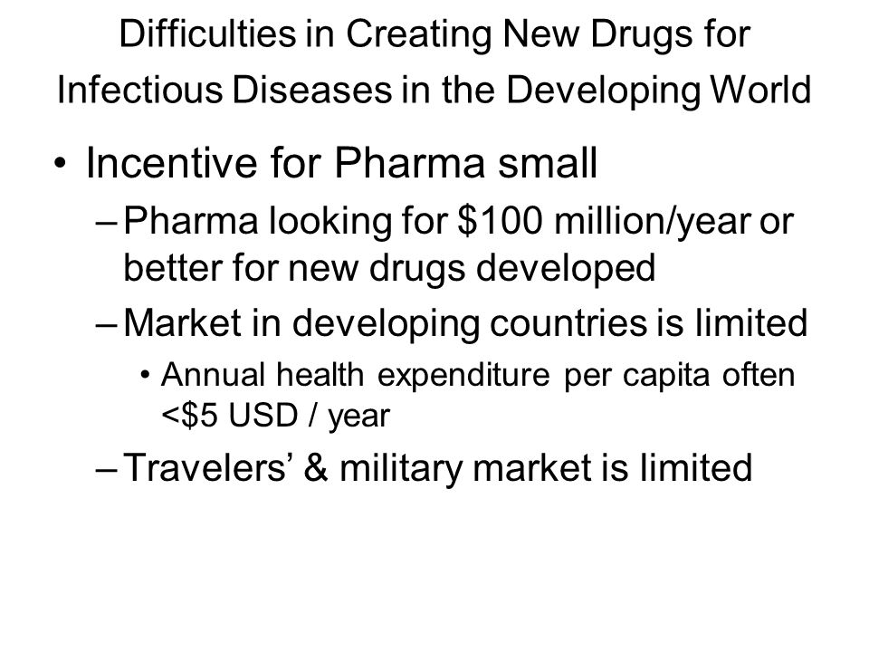 Wes Van Voorhis MD, PhD Case history: Help Pharma to do the right thing Interested in drug development for the Developing World –Malaria –Trypanosomes African Sleeping Sickness American Trypanosomiasis (Chagas' Disease) Crump: TDR/WHO Manning UCI National Geographic