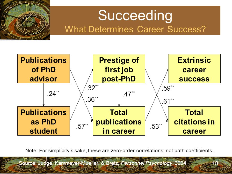 18 Succeeding What Determines Career Success.