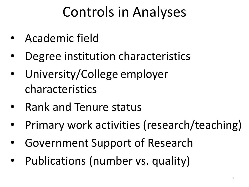 Wenneras & Wold (1997) Sweden, biomedical academics Peer-reviewed system of Swedish Medical Research Council (postdoctoral fellowships) – Vita, bio, research proposal – Reviewed by one of 11 evaluation committees – Score of 0-4 on three attributes (multiplied, averaged across reviewers) Scientific competence Relevance of the research proposal Quality of the methodology 28