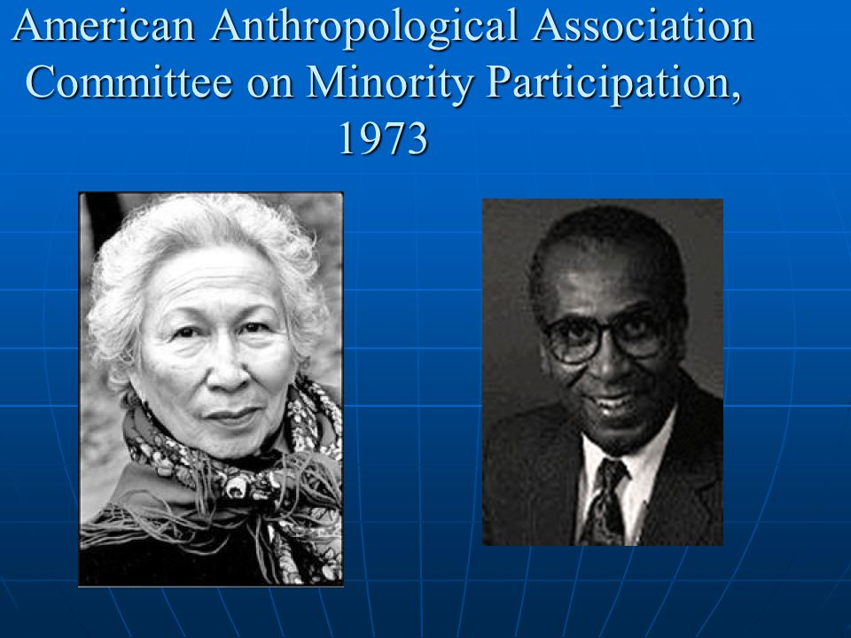 American Anthropological Association Committee on Minority Participation, 1973