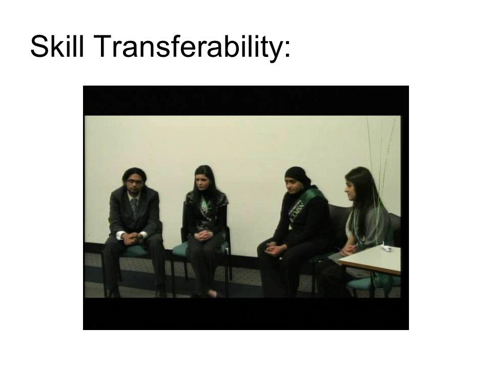 Skill Transferability: