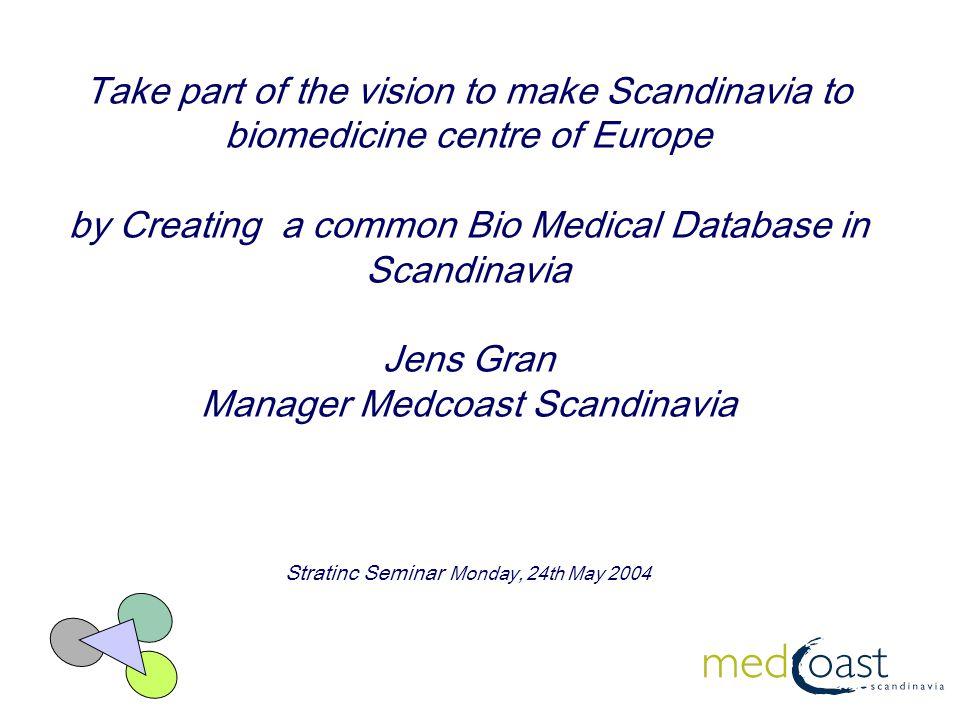 Developing a Borderless Bio Medical Region