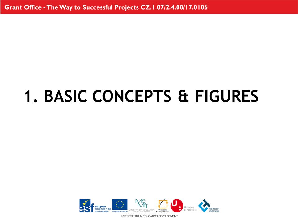 1. BASIC CONCEPTS & FIGURES