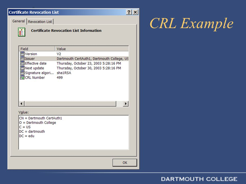 CRL Example