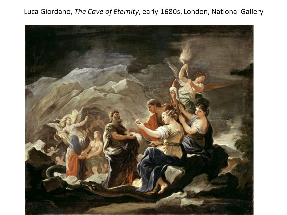 Luca Giordano, The Cave of Eternity, early 1680s, London, National Gallery