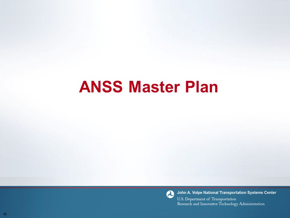 ANSS Master Plan 10