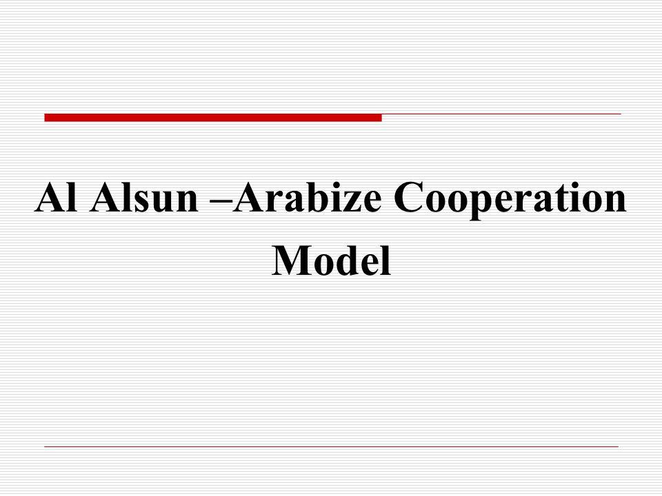 Al Alsun –Arabize Cooperation Model
