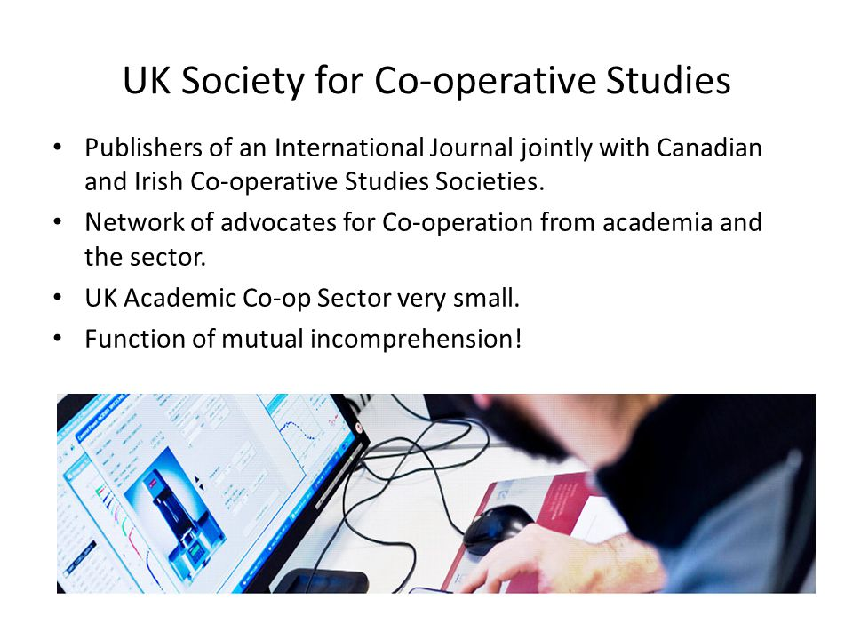 CESPIs Co-operative, Social, Environmental Performance Indicators Can have Key Indicators as well – KCESPIs If Membership turnover is low, chances are they're happy with the offer – or too apathetic to leave!