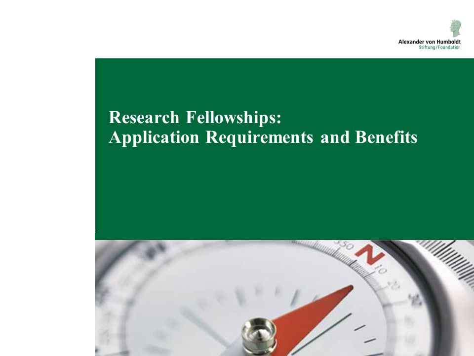 Research Fellowships: Application Requirements and Benefits