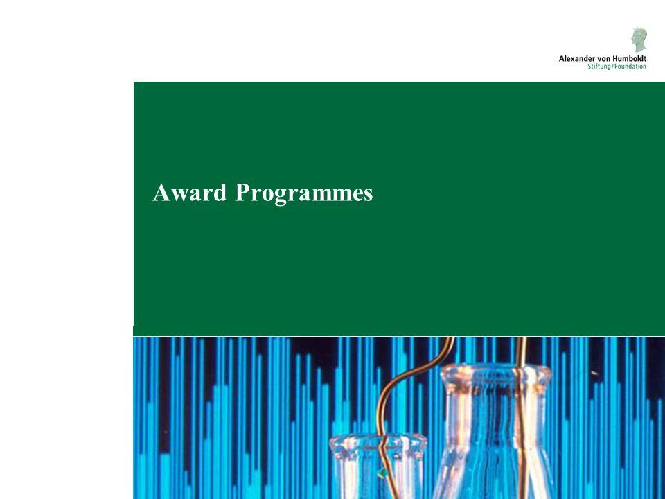 Award Programmes