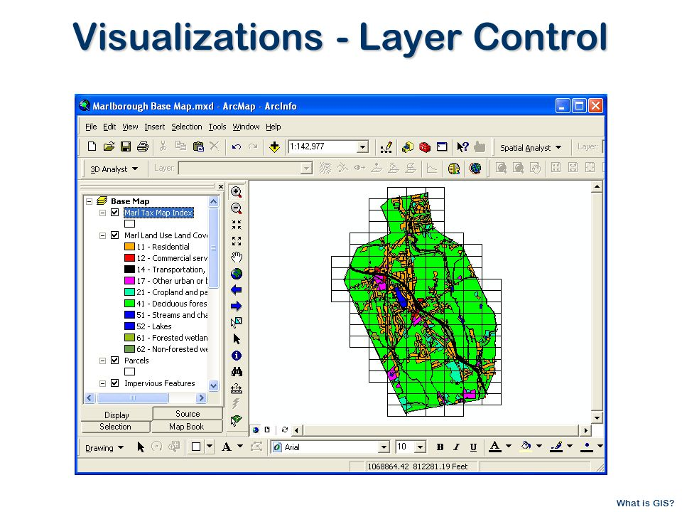 What is GIS Visualizations - Layer Control