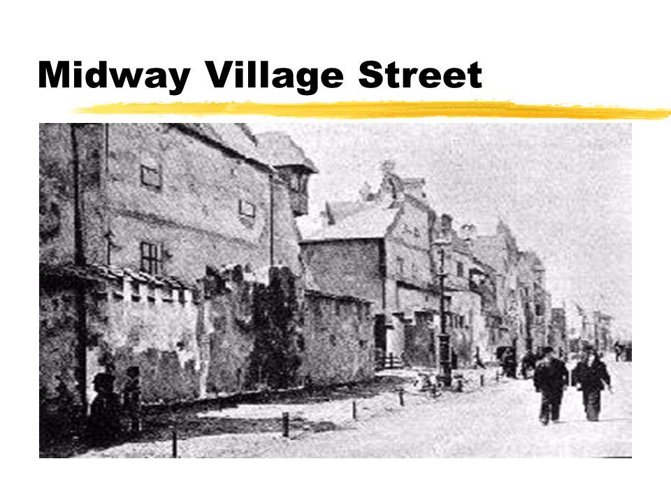 Midway Village Street