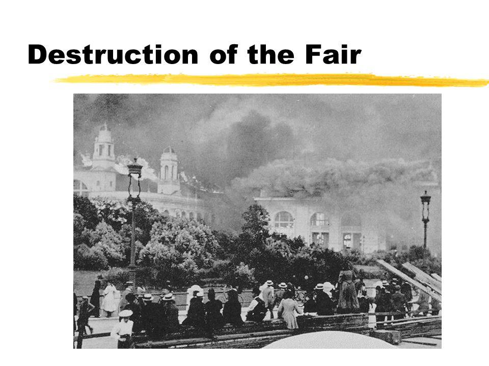 Destruction of the Fair