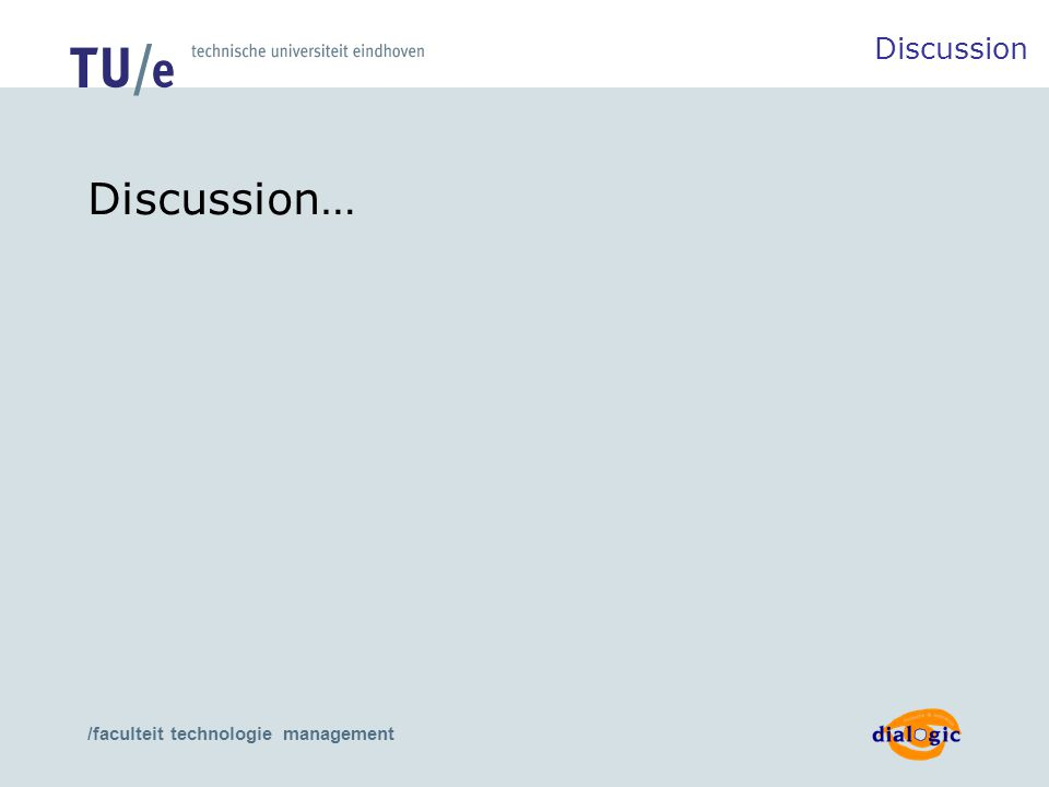 /faculteit technologie management Discussion… Discussion