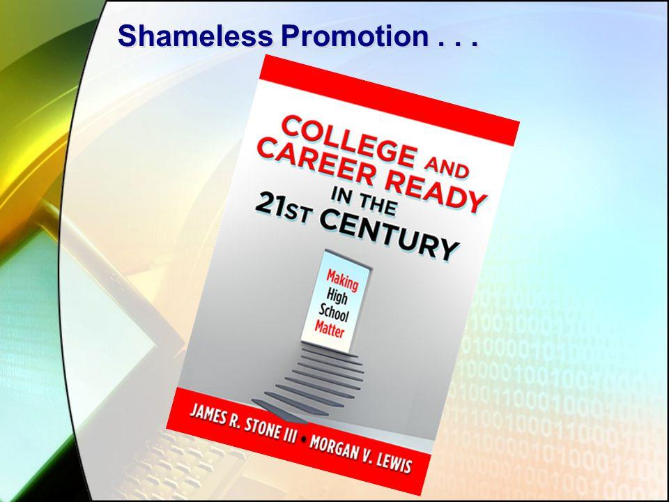 Shameless Promotion...
