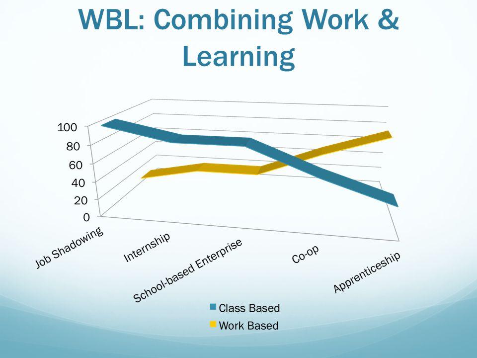 WBL: Combining Work & Learning