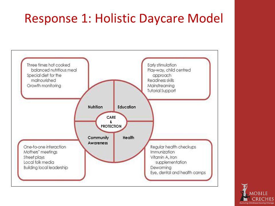 Response 1: Holistic Daycare Model