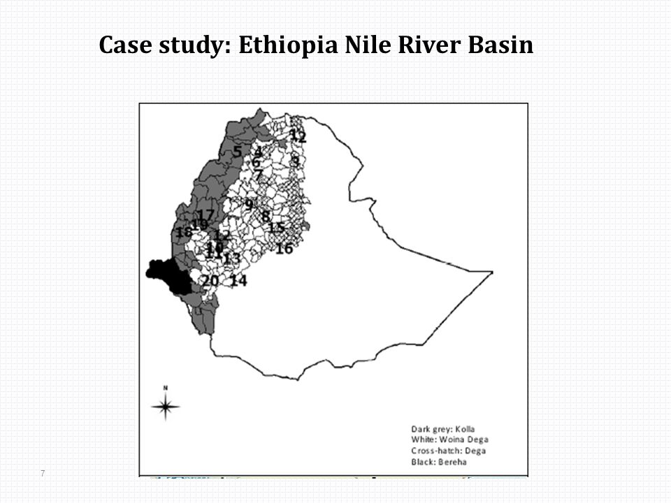 7 Case study: Ethiopia Nile River Basin