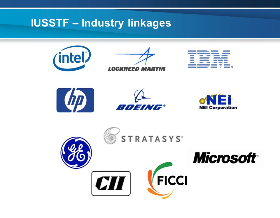 IUSSTF – Industry linkages
