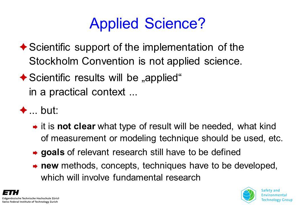 Applied Science.