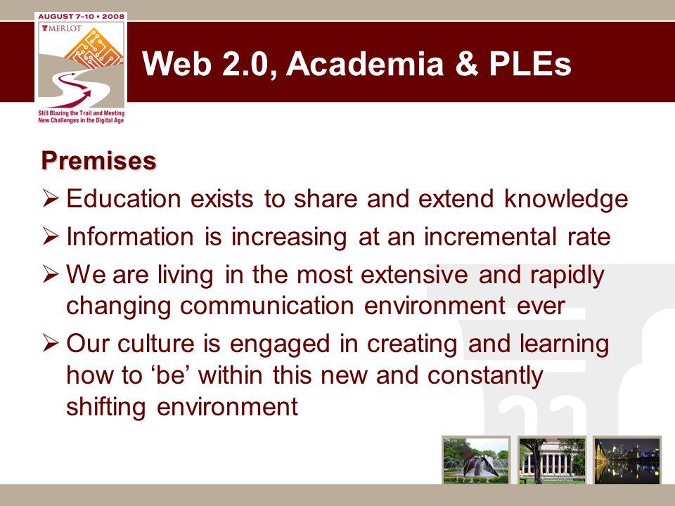 Definitions  Web 2.0  Social Media  PLE / PLWE - http://joanvinallcox.posterous.com/ple-3-views http://joanvinallcox.posterous.com/ple-3-views  Knowledge Workers - PLNPLN